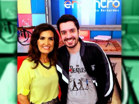 Lucas Calixto no Encontro com Fátima Bernardes